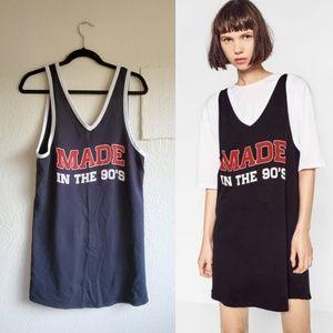ZARA MADE IN THE 90's DRESS